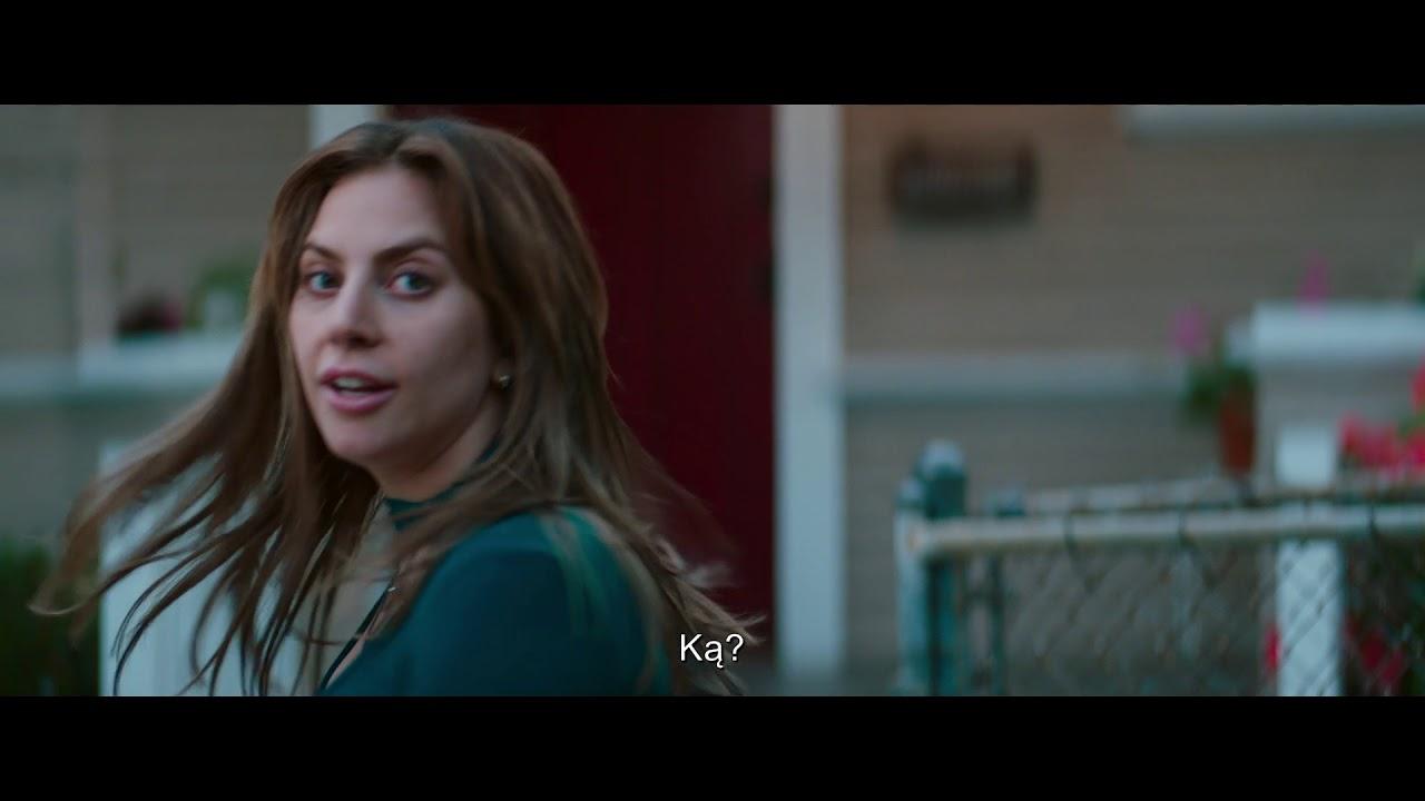 TAIP GIMĖ ŽVAIGŽDĖ - Lady Gaga Bradley Cooper'io filme - kinuose 2018 m. spalį