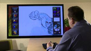 Mitch Schauer - uDraw Studio: Instant Artist Time Lapse Trailer