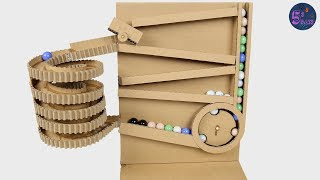 Diy Racing Spiral Machine With Marble Racing [amazing ideas]