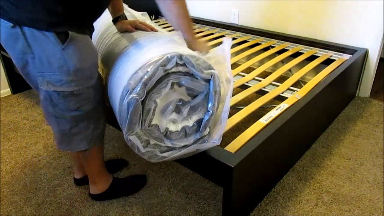 How To Unpack An Ikea Morgedal Mattress