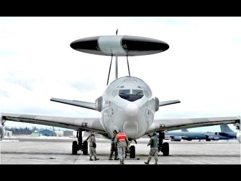 Worlds MOST POWERFUL US Air Force Early Warning Radar Aircraft