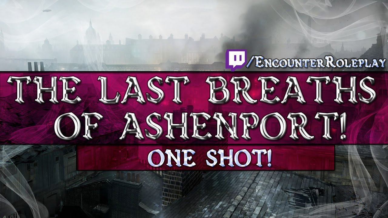 Cover of The Last Breaths of Ashenport