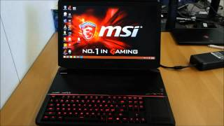 MSI GT80 2QE - Esittely