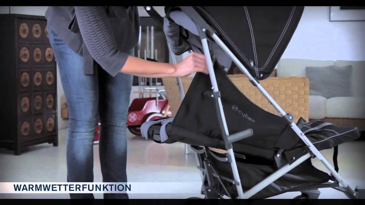 kinderwagen cybex onyx video anleitung youtube. Black Bedroom Furniture Sets. Home Design Ideas