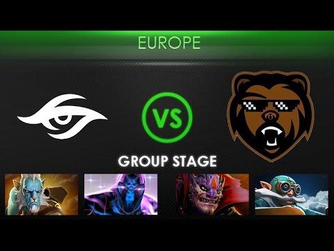 Team Secret vs B)ears - Kiev Major Europe Qualifier: Group Stage - @TobiWanDOTA @CC&C
