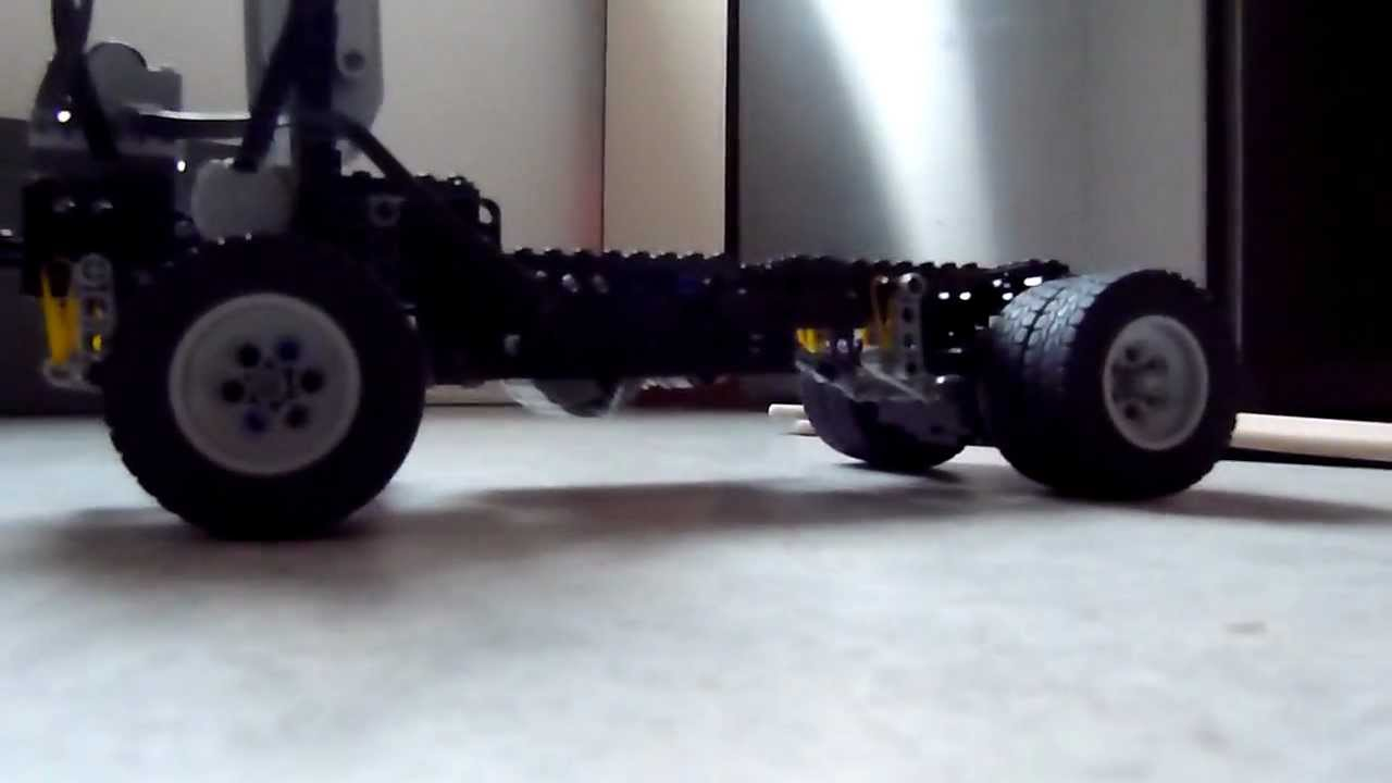 Lego Technik LKW Rahmen / Truck Frame / Remote - YouTube