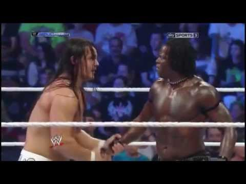 Bo Dallas vs R-Truth on Smackdown June 13th 2014 [FULL MATCH]