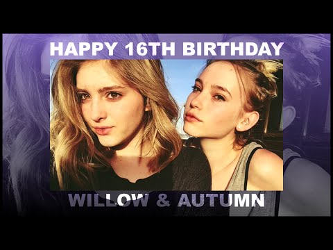 Happy 16th Birthday, Willow & Autumn Shields!