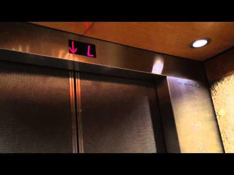 High Otis Traction Elevators At The New York Hilton Midtown