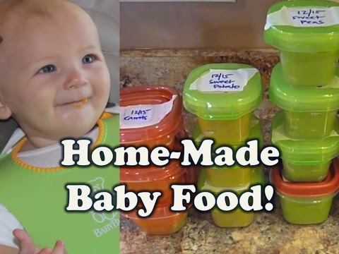 How to make baby food: BULK COOKING (stage 1 vegetables)