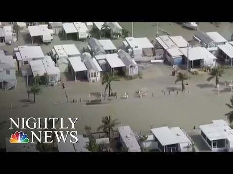 Vital Infrastructure Obliterated In Hard-Hit Florida Keys | NBC Nightly News