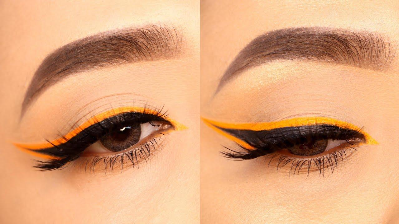 #shorts Colored eyeliner look || Shilpa