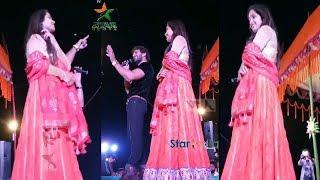 खेसारी लाल के सात काजल राघवानी नए अंदाज मैं स्टेज शो करते नजर आये khesari lal kajal live performance