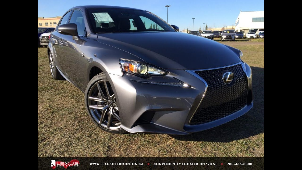 2016 Lexus Is 300 Awd F Sport Series 2 Review