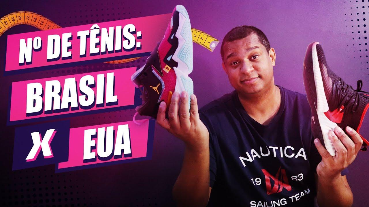 barril amplitud nombre  Conversor 2020 > Numeração de Tênis nos EUA x Brasil > Sapatos e Calçados