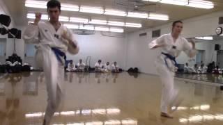Winter 2015 Belt Test (Blue Belt Line Work)