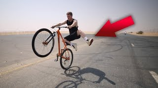 COLLECTIVE BIKES - HOW TO WHEELIE WITH JAKE100