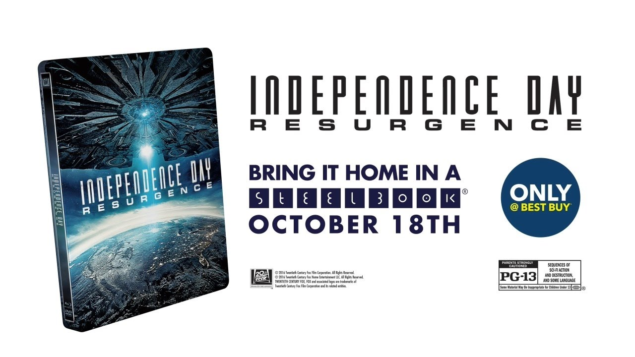 Independence Day: Resurgence [Blu-ray/DVD] [Steelbook] [Only @ Best ...