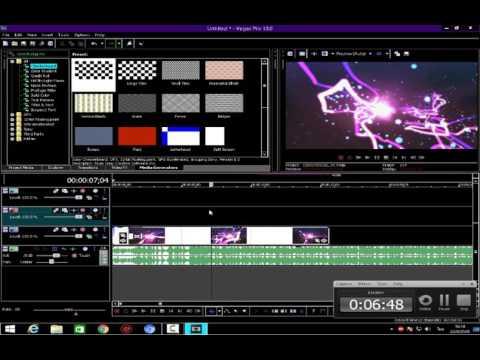 ้้้้สอนทำ Intro FX Sony Vegas Pro