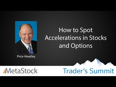 How to Spot Accelerations in Stocks and Options - Price Headley