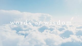 Words of Wisdom 001 | Eckhart Tolle