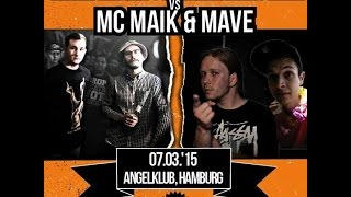 DLTLLY // Rap Battle // Onkel Oktomusch & Die Zwetschke VS Mave & MC Maik