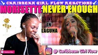 UNBELIEVABLE !! Morisette Amon- Live in Laguna - Never Enough [Caribbean Girl Flow Reactions]