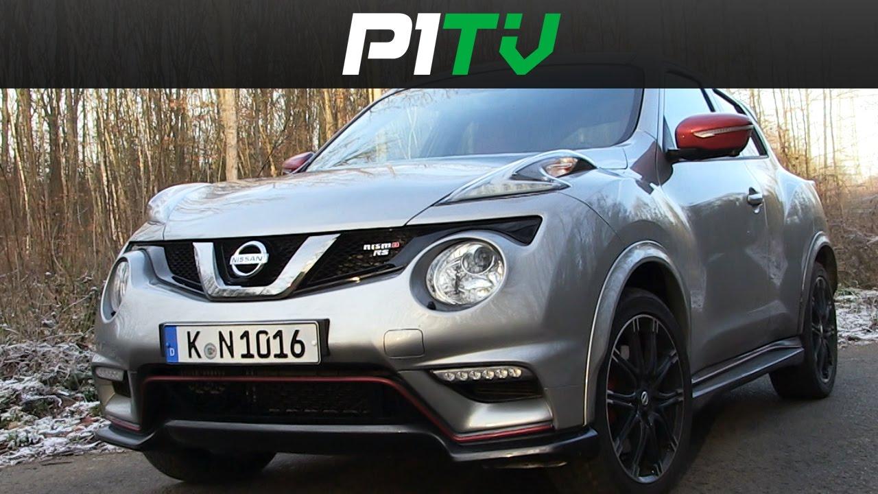 Nissan juke nismo rs 4x4 cvt review fahrbericht p1tv for Fahrbericht nissan juke
