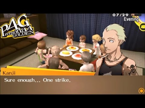 Persona 4 Golden: Omelet Cook-Off (NewGame+)
