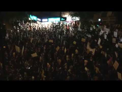 צעדה למען זכויות בעלי חיים, תל אביב אוקטובר 2015