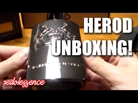 Herod by Parfums de Marly Unboxing!