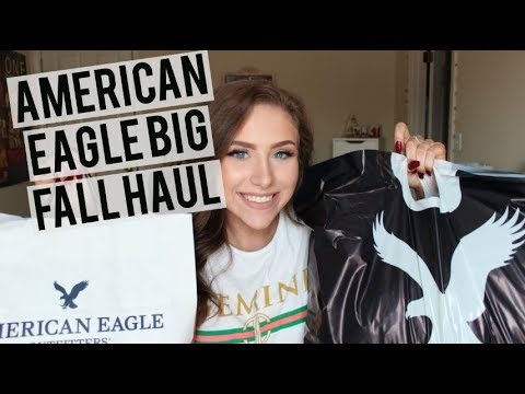 AMERICAN EAGLE FALL HAUL & TRY ON | 2017