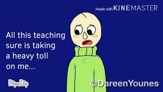 "Baldi turns into a Cat! ""Baldi's Basics in Education and Learning"""