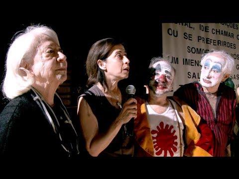 O Rei Da Vela - 4º Ato com Fernanda Montenegro e Fernanda Torres - Teatro Oficina