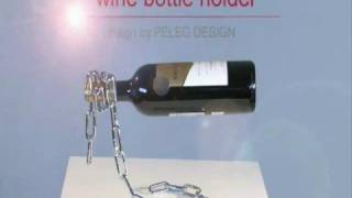 Chain Wine Bottle Holder By Peleg Design
