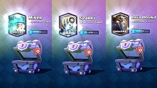 Clash Royale - Legendary Card Chest Opening! 150,000 Gems