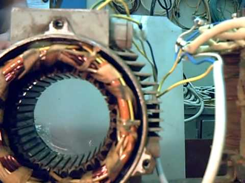 проверка статора на межвитковое замыкание