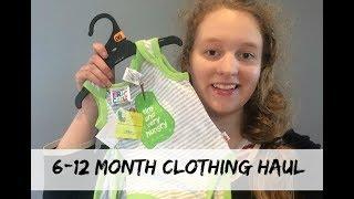6-12+ Month Clothing Haul | Zero Waste Baby