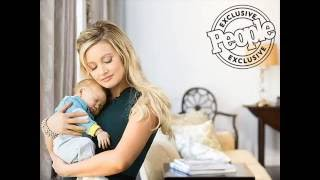 Holly Madison and his family shows the baby Forest Rotella in People Magazine