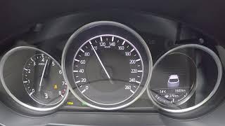 2017 Mazda CX-5 2.0 160 HP Acceleration 0-100