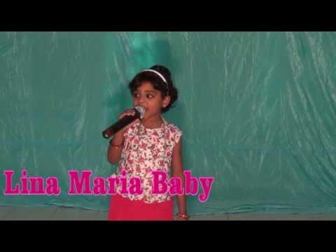Dum dum deega deega/Lina Maria Baby/Lincy Baby at KIA meet & Melodia mix June 2013