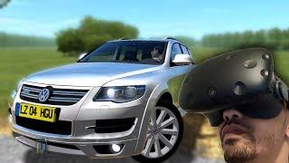 CITY CAR DRIVING EN VR ! - TOUAREG R50 - HTC VIVE