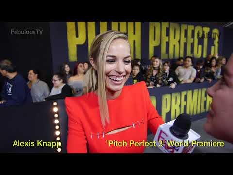 Alexis Knapp 'Pitch Perfect 3' World Premiere on FabTV