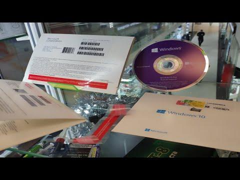 Windows 10 Pro OEM DVD. Как выглядит и что внутри конверта?
