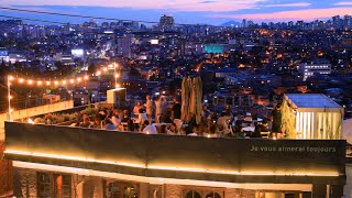 Treat yourself at the most stunning SEOUL-VIEW ROOFTOP BAR