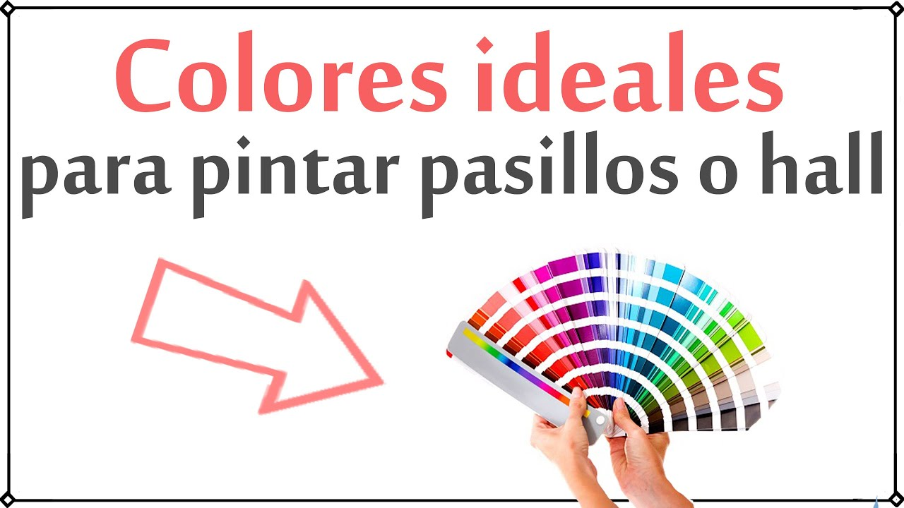 Colores Para Pintar El Pasillo Decoración Patri Blanco Youtube