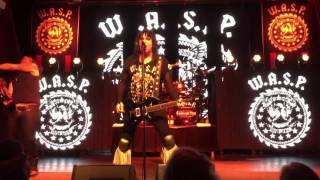 W.A.S.P. - I Wanna Be Somebody - Live Malmoe 2015