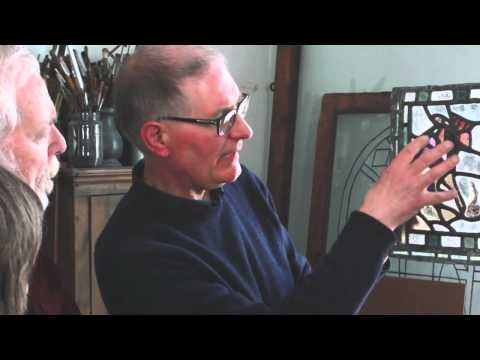 Arts & Crafts Stained Glass - a film with author Peter Cormack