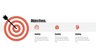 PowerPoint Tutorial: A Better Way to Present an Objectives Slide (2018)