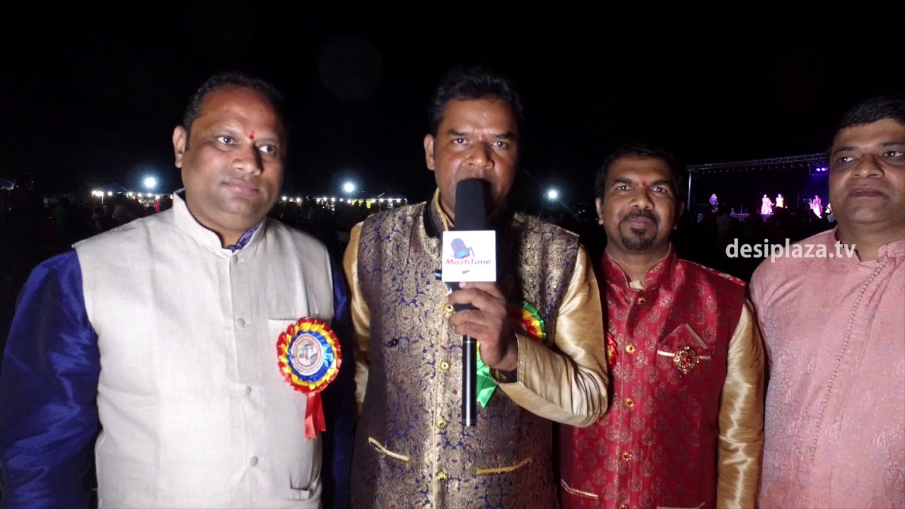 President - Mahender Ganapural speaking at DATA Bathukamma & Dasara Panduga  - 2017